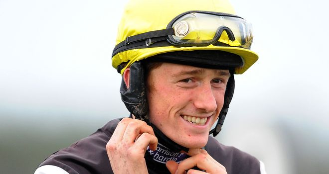 Sam Twiston-Davies is delighted to be back in action