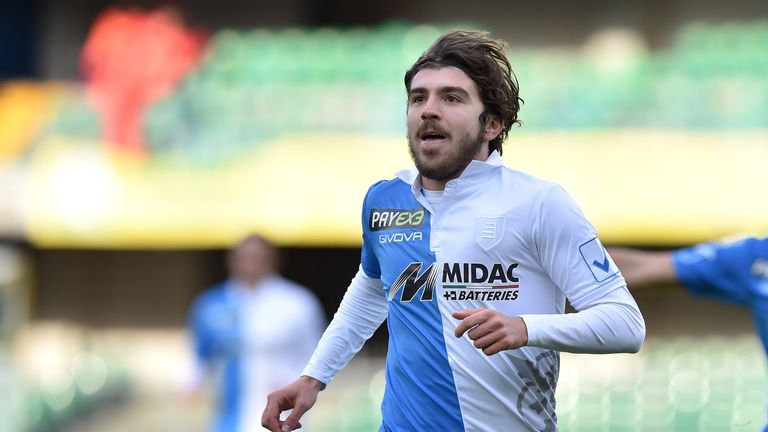 Alberto Paloschi was a new arrival at Swansea