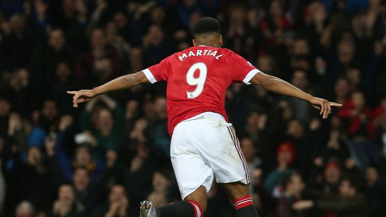 Martial has brought dribbles and goals to Manchester United