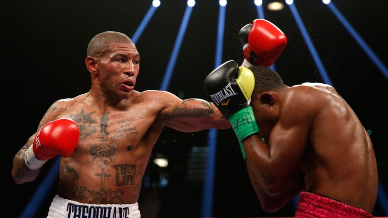 Ashley Theophane (left) is plotting an upset of Adrien Broner