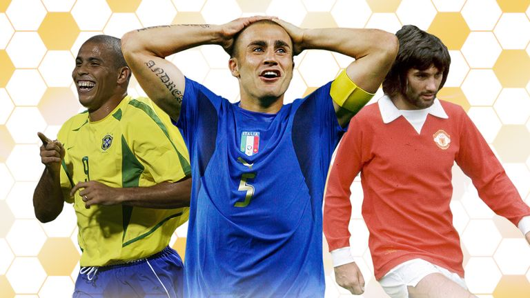 Ronaldo, Fabio Cannavaro and George Best are all former winners of the Ballon d'Or