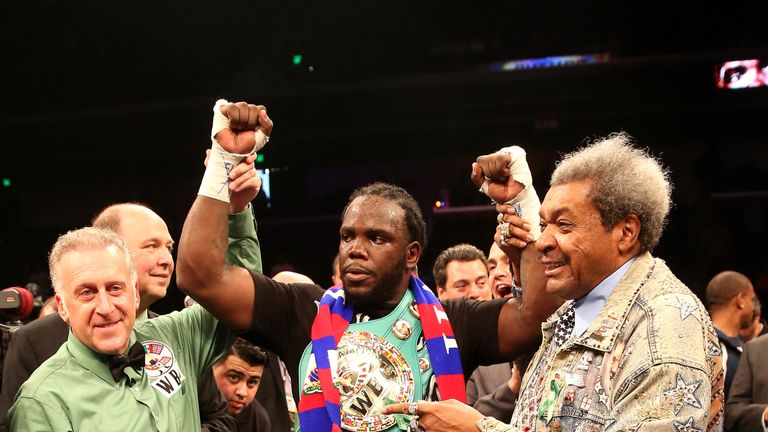 Former WBC champion Bermane Stiverne is on the undercard