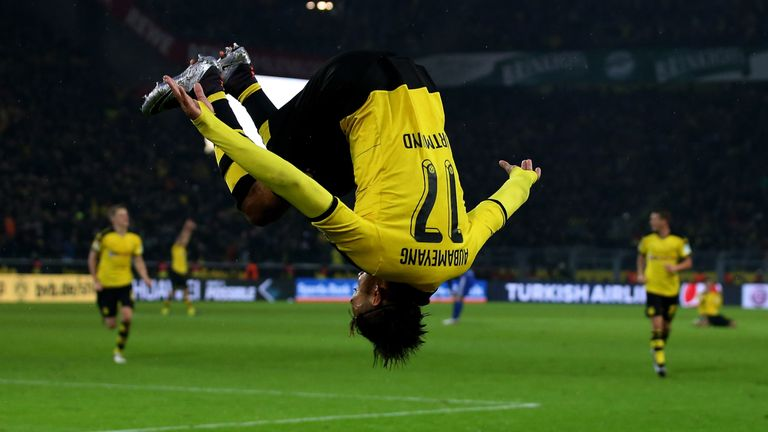 Dortmund's Pierre Emerick Aubameyang wants to move to Real Madrid