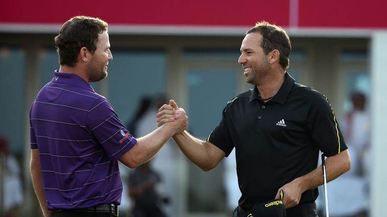 Branden Grace and Garcia are the previous two winners in Doha