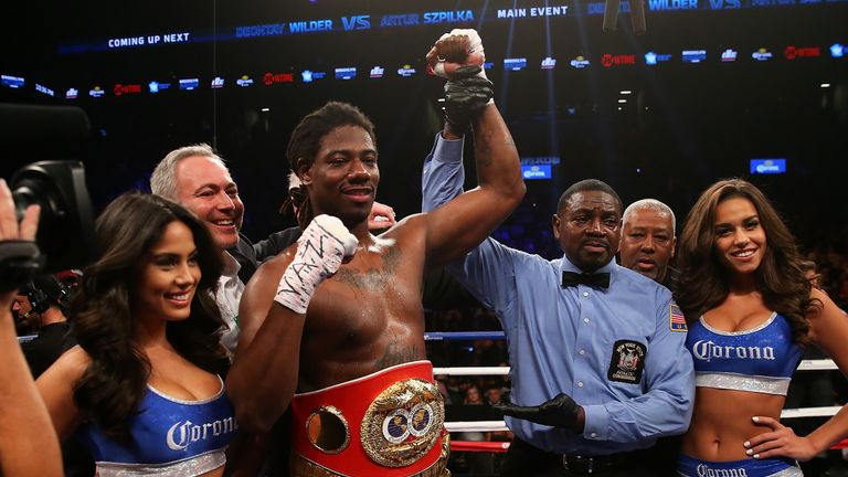 Martin defeated Glazkov to win the IBF World Heavyweight - vacated by Tyson Fury in December
