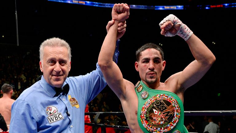 Danny Garcia is top of Kell Brook's big-name wishlist