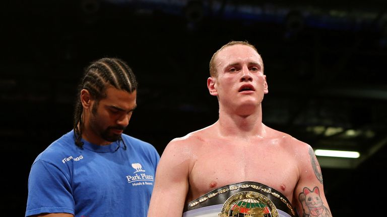 David Haye and George Groves have joined trainer Shane McGuigan