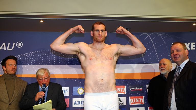David Price failed to reach an agreement with Fury about a British title fight in 2012