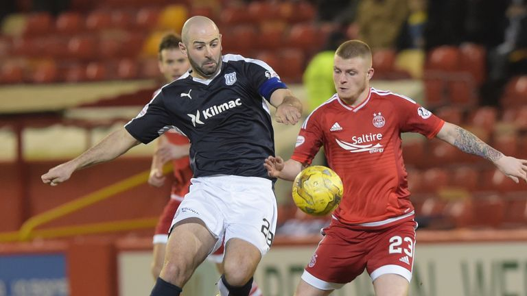 Storie has impressed his Aberdeen team-mates and fans