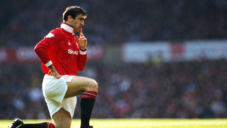 Eric Cantona inspired Manchester United to their first Premier League win