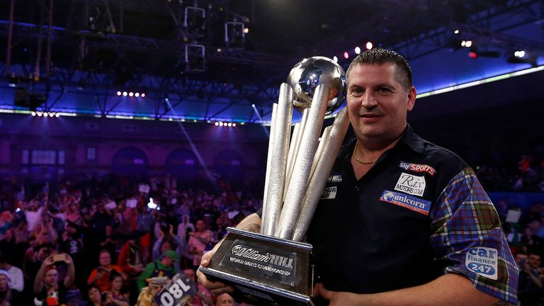Gary Anderson will be out to lift the Sid Waddell trophy once again