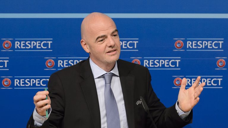 Gianni Infantino's presidential campaign backed by ECA
