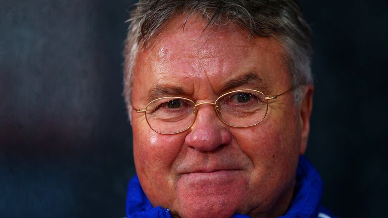Guus Hiddink was pleased with his Chelsea side's fast start against Newcastle