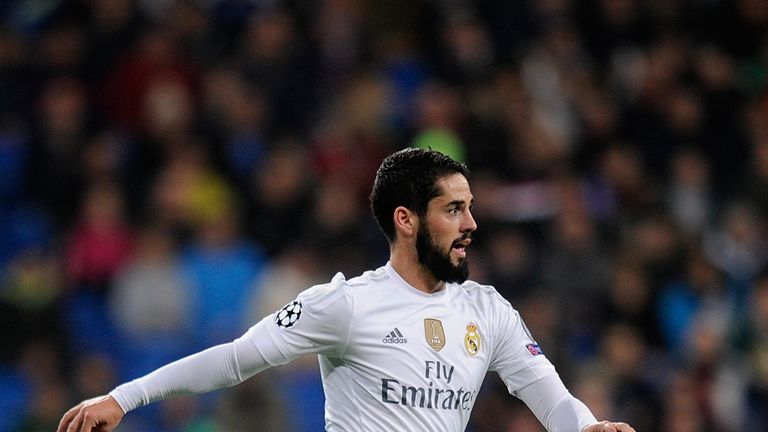 Isco has been with Real Madrid since 2013