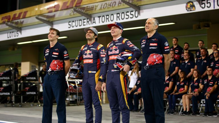 James Key (left) believes Toro Rosso and their two young drivers can kick in 2016