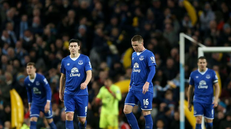 Everton exited the Capital One Cup in midweek after defeat to Man City