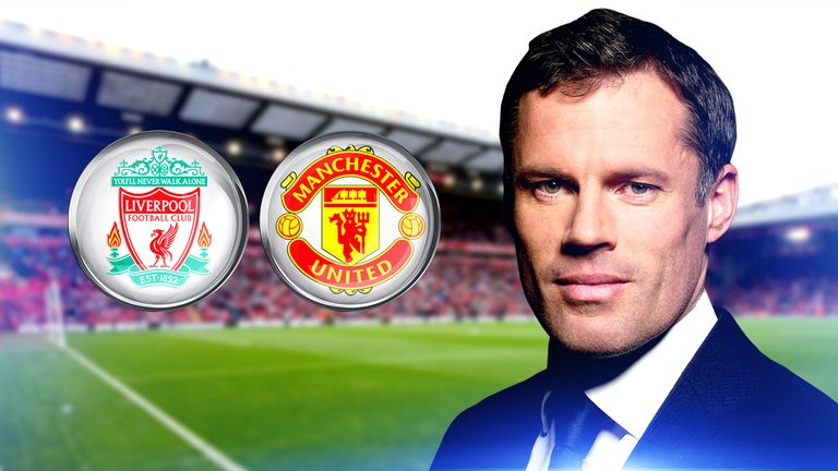 Jamie Carragher predicts a 2-2 draw between Liverpool and Manchester United