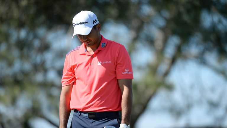 Jason Day missed the cut by two shots at Torrey Pines