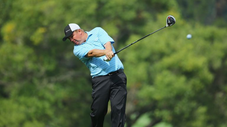 McGowan made two eagles in four holes on the back nine