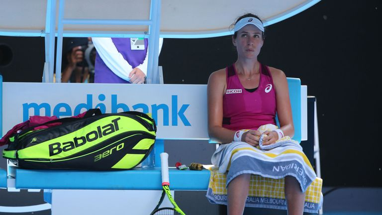 Play under way on Day 11 of Australian Open