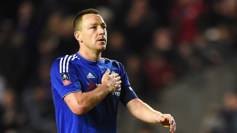 Terry is Chelsea's most successful captain of all time