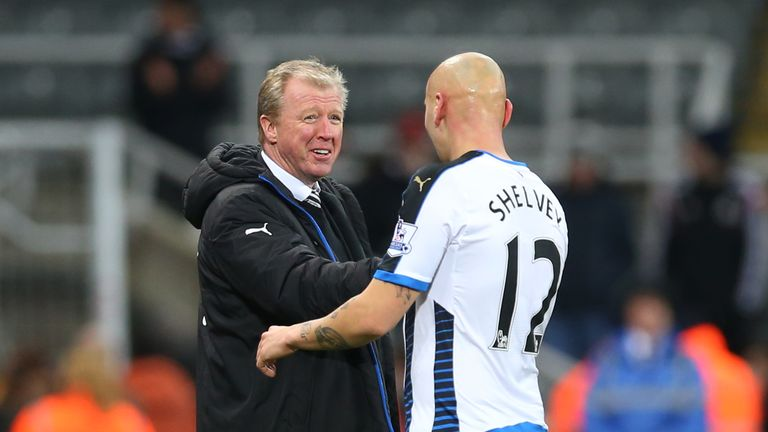 Steve McLaren was happy with new signing Jonjo Shelvey