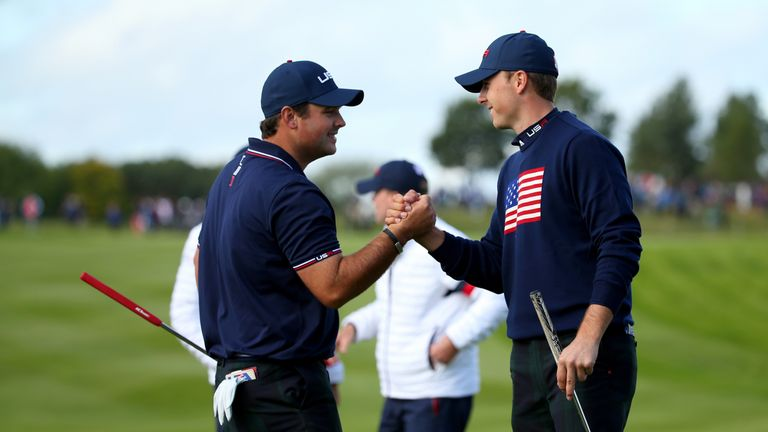 Spieth's partnership with Patrick Reed was a huge success for the USA at Gleneagles