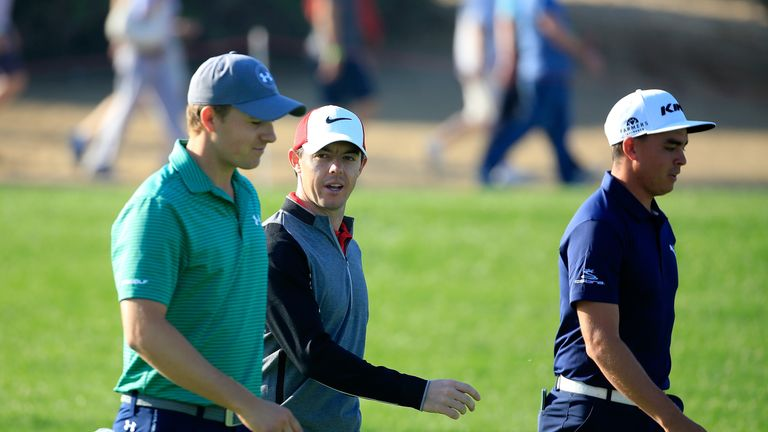 Fowler played with Jordan Spieth and Rory McIlroy and ultimately outshone them both