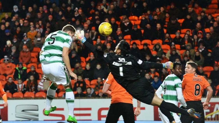 Jozo Simunovic powers home Celtic's second goal