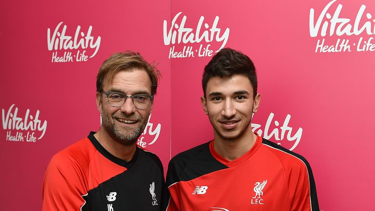 Grujic becomes Jurgen Klopp's first signing as Liverpool manager