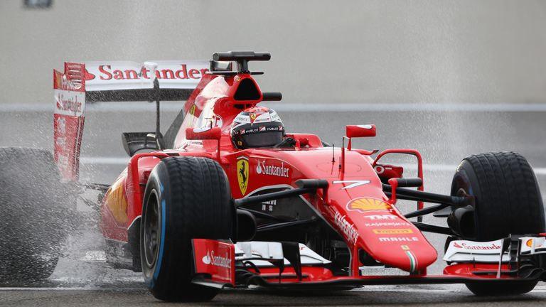 Kimi Raikkonen will hand over the 2015 Ferrari to Sebastian Vettel on Tuesday