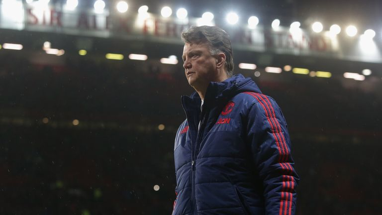 Louis van Gaal said fans were right to boo him after Manchester United's defeat to Southampton