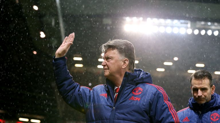 Louis van Gaal continues to struggle to ignite things at Old Trafford