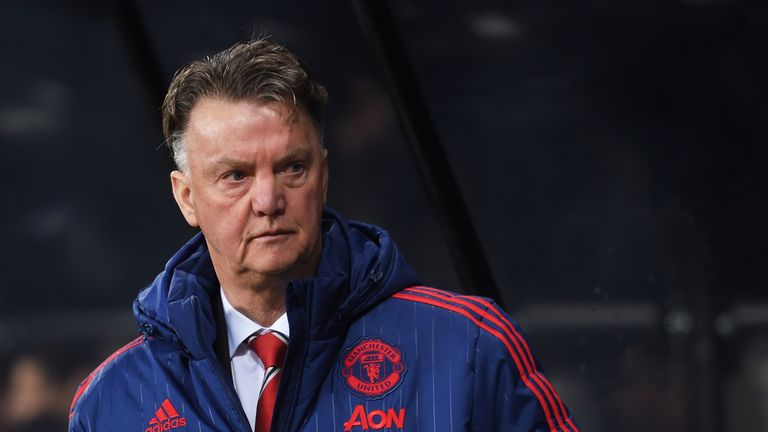 Manchester United's efforts on Monday could decide Louis van Gaal's fate