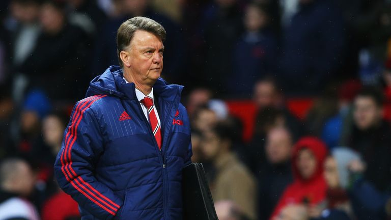 It was an improvement for Louis van Gaal during Saturday's win over Swansea