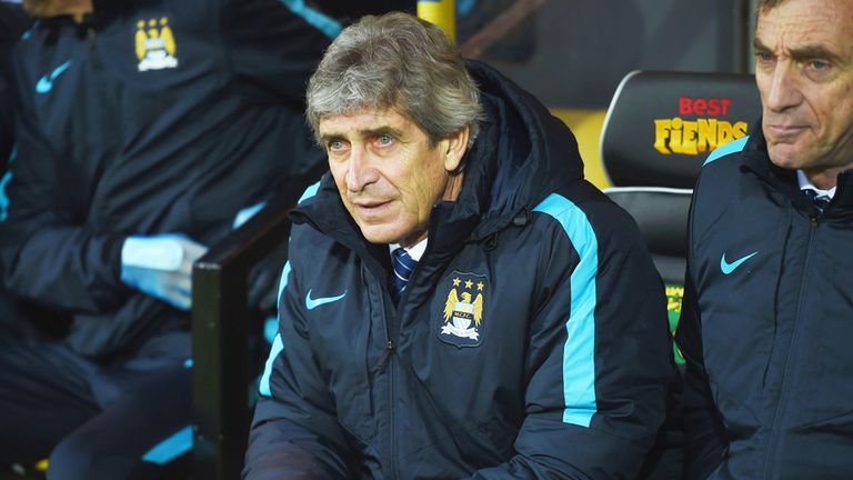 Manuel Pellegrini is stepping down at the end of his original contract
