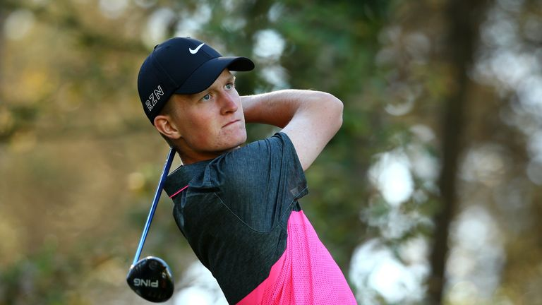 Kinhult makes his first start since progressing from November's Q-school