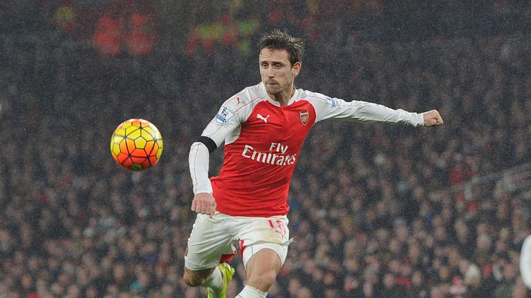 Nacho Monreal has established himself in the left-back slot for Arsenal