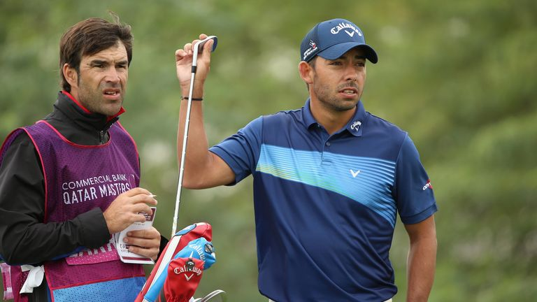 Larrazabal posted a hat-trick of gains around the turn on his way to a seven-under 65