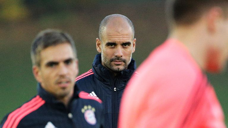 Guardiola demands total dedication from his players in training