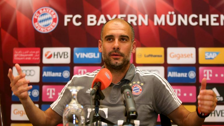Pep Guardiola is leaving Bayern Munich this summer