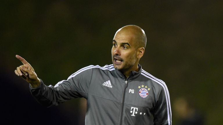 Guardiola will leave Bayern Munich at the end of the season and be replaced by Carlo Ancelotti