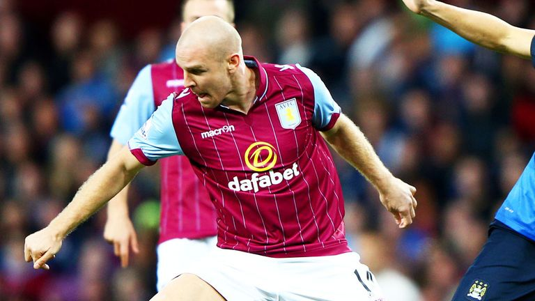 Philippe Senderos was allowed to leave Aston Villa