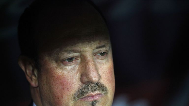 Rafael Benitez was sacked as Real Madrid manager on Monday