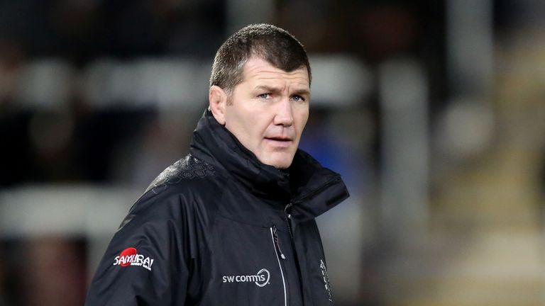 Rob Baxter, head coach of Exeter Chiefs