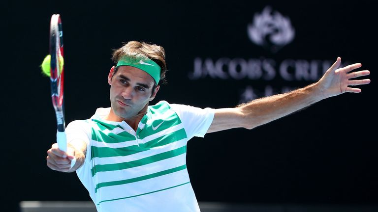 Roger Federer is fit again after undergoing knee surgery