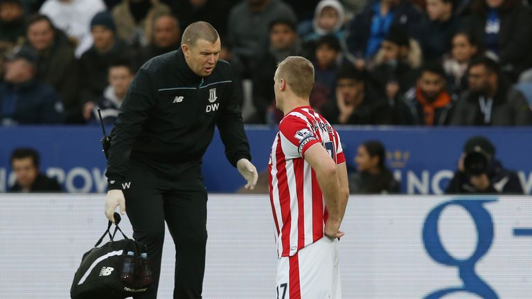 Shawcross is out of the Capital One Cup semi-final second leg with a back injury