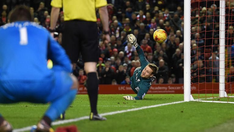 Mignolet was a key player as he saved two penalties in the semi-final shoot-out win over Stoke