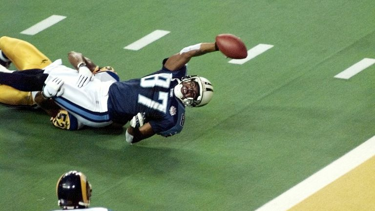 'One Yard Short' - an iconic NFL image