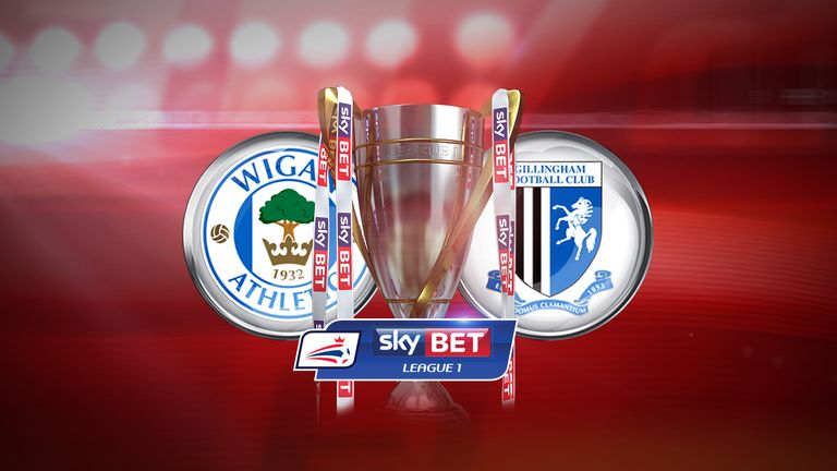 Watch Wigan v Gillingham in League 1 on Thursday night, live on Sky Sports